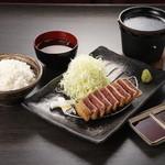 牛カツのタケル - 牛カツ定食