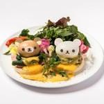 HARAJUKU BOX CAFE&SPACE - なかよし♪エッグベネディクト¥1,580(税抜)
