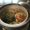 川原寺 花つばき - 料理写真:鍋焼きうどん