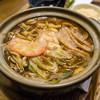 三八屋 - 料理写真:牡蠣入り味噌煮込みうどん
