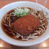 神楽坂そば - 料理写真:コロッケそば(380円)
