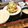 にこり - 料理写真:香味ソース唐揚げ定食