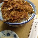 天ぷら 中山 - 黒天丼