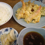 天ぷら 中山 - 天ぷら定食