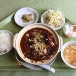 中国料理 養源郷 - 土鍋白身魚四川風煮込み、900円です。