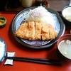 ローン - 料理写真:ロースカツ定食 1,050円(込)