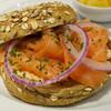 キャビアハウス&プルニエ サンドイッチハウス - 料理写真:バリックスモークサーモン