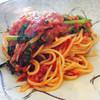 SATO - 料理写真:シラスとほうれん草のトマトスパゲティ
