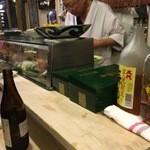 寿司辰 - カウンター