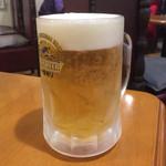 こう - 生ビール400円