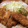 とんかつ冨貴 - 料理写真:とんかつ定食に魚フライ