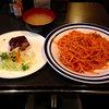 カヤシマ - 料理写真:ナポリタンとハンバーグのセット980円