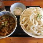 ししまる食堂 - 肉汁うどん(大) ¥670-