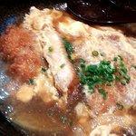 牡蠣と魚 海宝 - ロースかつ卵とじ