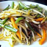 上海美食 - レバニラ炒めです