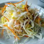 上海美食 - サラダも結構たっぷりでした