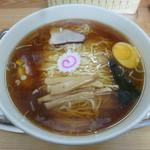 大勝軒 - '16/04/02 玉子入りそば(税込810円)