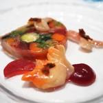 シュマン - 季節野菜と貝のテリーヌ