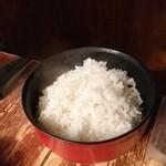 焼肉居酒屋 くまみちゃん  - 大っぽくないライス