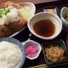 野方食堂 - 料理写真:みぞれ竜田定食に納豆