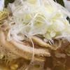 ラーメン 虎ノ穴 - 料理写真:ラーメン大 肉増し ネギ 硬め濃いめ多め