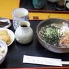 伯蕎庵 しばた - 料理写真:2016年4月 おろしそば(温)セット(750円)