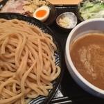 道 - つけ麺(中盛)