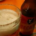 ラ・コシーナ・ガブリエラ・メヒカーナ - TECATEは塩をまぶしたグラスとともに
