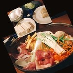 和食さと - 料理写真:山海ちゃんこ鍋