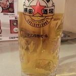 横田酒場 - 生ビールはラガー390円