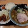 ふじ亭 - 料理写真:カレーラーメン+Aセット