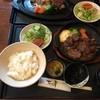 Tomisu亭 - 料理写真:陶板ステーキランチ ごはん大盛り(税抜き1600円)