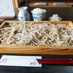 こだわりのそば楓 - 料理写真:大板そば(十割)