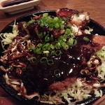 風来坊 - 鉄板味噌ロースカツ