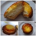 ベイク チーズ タルト - チーズも滑らか生地もサクサク、程よい甘みで美味しいですよ。