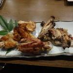ちゃ味道楽 - 宮崎産刀根赤鶏の山賊焼
