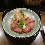 ちゃ味道楽 - 白肝刺身(少量)
