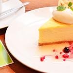 アナログ カフェ ラウンジ トーキョー - NYチーズケーキ