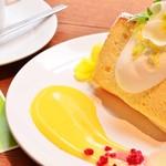 アナログ カフェ ラウンジ トーキョー - レモンバニラのシフォンケーキ