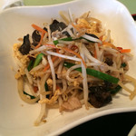 松柏 - 料理写真:木耳と玉子と豚肉炒め