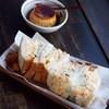 岡本屋 売店 - 料理写真:絶品たまごサンドにプリンっ!必食!