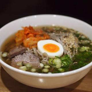 六盛 - 料理写真:これが別府冷麺!うまいっ!