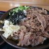 うどんの田 - 料理写真:肉ぶっかけうどん