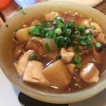 くろさわ東京菜 - 豆腐筍煮