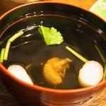 魚伊 - うな丼 特上(肝吸)
