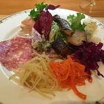 イタリア食堂 キャリー - 前菜盛り合わせ(ハーフ)