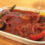 イタリア食堂 キャリー - イイダコのトマト煮こみ