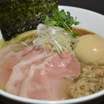 麺や勝治 - 特製 塩ら~めん(並)