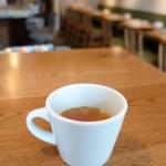 ピッツェリア アネッロ - 料理写真:カップスープ、コクのあるコンソメスープです