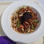 美虎 - 汁なし黒坦々麺(900円)